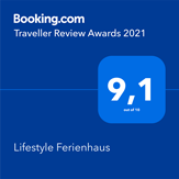 Booking.com, Traveller Awards 2021