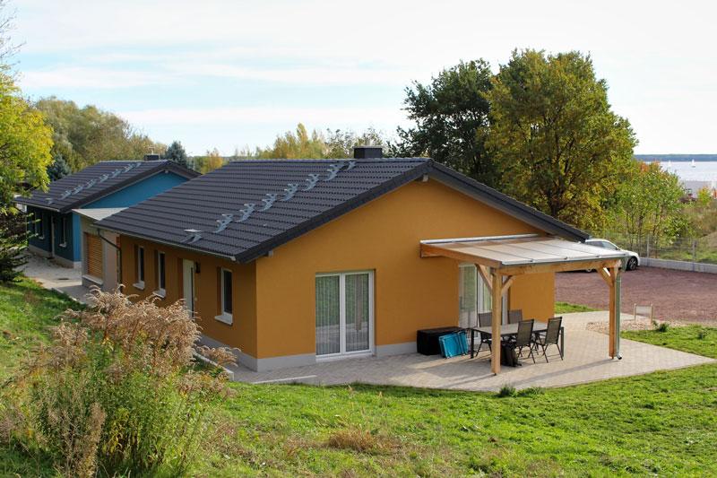 Lifestyle-Ferienhäuser am Goitzsche-See, Außenansicht