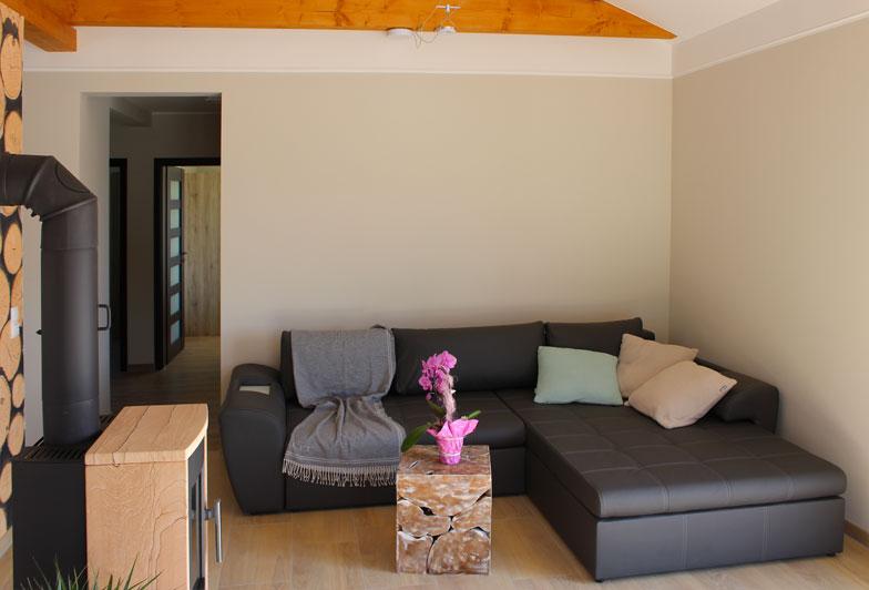 Wohnraum mit Ecksofa